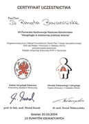 Renata Baranowska - certificates in allergology - polish doctors in Dublin - #17