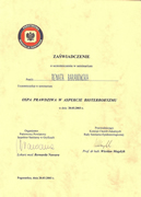 Renata Baranowska - certificates of polish doctors in Dublin - #2