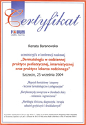 Renata Baranowska - certificates of polish doctors in Dublin - #3