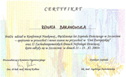 Renata Baranowska - certificates in pediatrics - polish doctors in Dublin - #11
