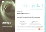 Renata Baranowska - certificates in pediatrics - polish doctors in Dublin - #18