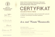 Renata Baranowska - certificates in pediatrics - polish doctors in Dublin - #7