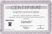 Kajetan Baranowski - certificates in dentistry - polish doctors in Dublin - #10